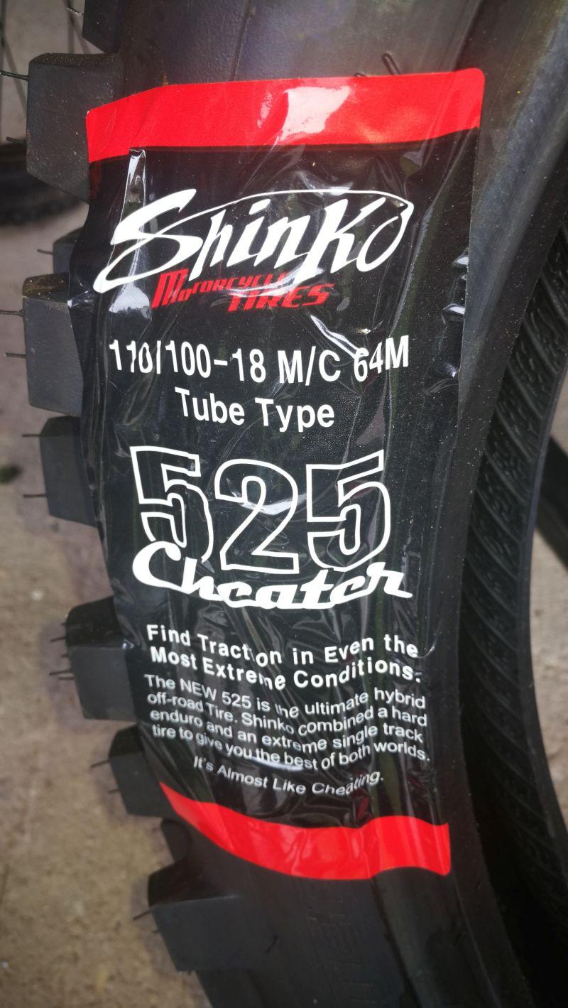 Shinko Hybrid Cheater 525 2