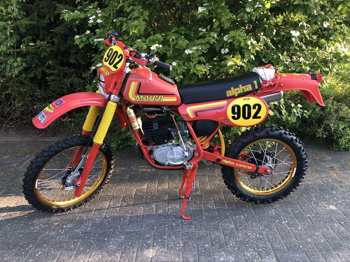 Maico GS 250/T Alpha 1 1982