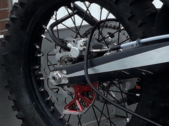Bremsscheibenschutz einfach