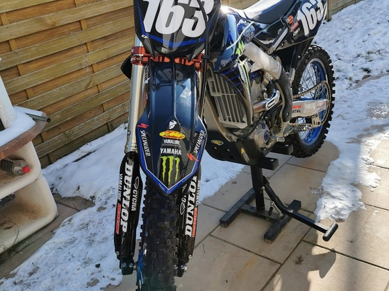 Yamaha YZ250F Monster Edfition