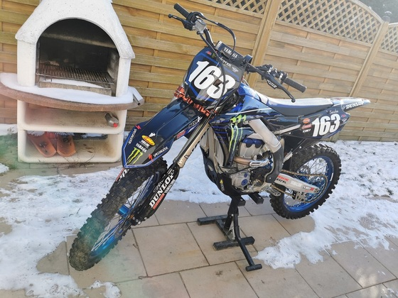 Yamaha YZ250F 2021 Monster Edition