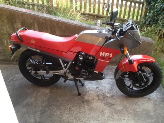 Fantic HP 1 125 sport 1986