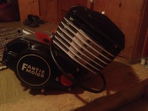 Fantic RSX 125 Motor neu 0KM