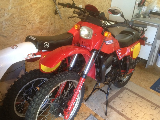 Fantic RSX 80 und replika Umbau
