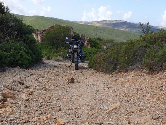 Piscinas South Sardinia