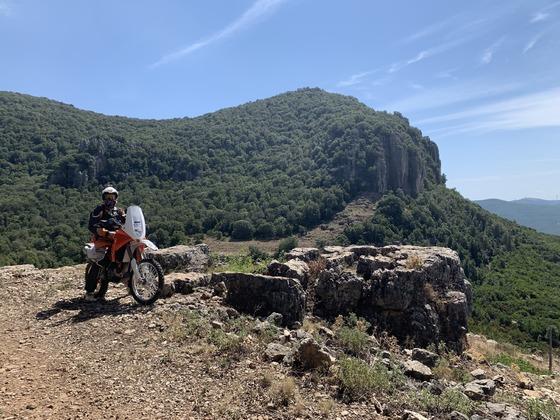 Jerzu Hinterland South Sardinia