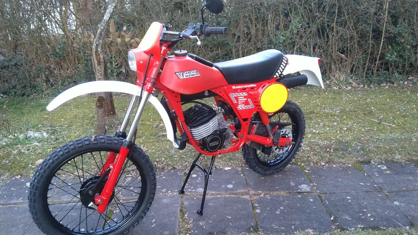 Fantixc RSX 125 im Brissoni Look