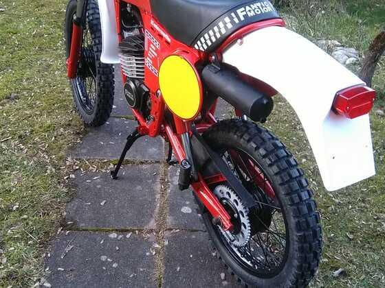 Fantic RSX 125 im Brissoni Look