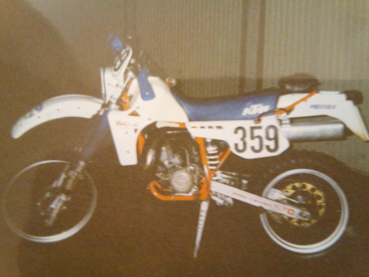 KTM 250 GS 1984 Schlechten