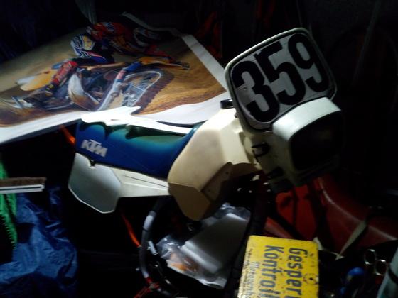 KTM 250 GS Schlechten Zerlegt zzt