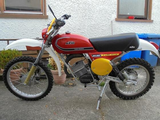 KTM 50  1977