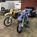 Suzuki RM 126 '99 & Yamaha YZ250F '20