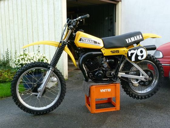 YZ 125 F 1979