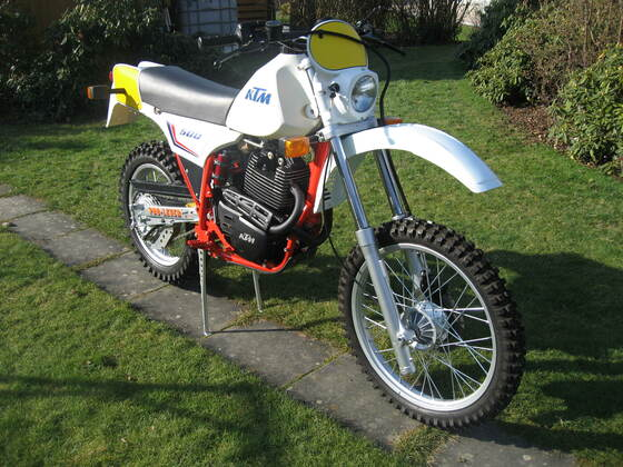 KTM GS 500