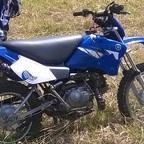 Höherlegung Yamaha TT90