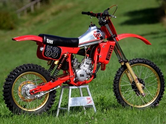 Moto tm CRH 125cc 1982