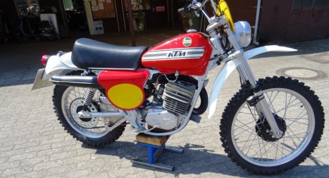 KTM 125 ccm , Bj.1975