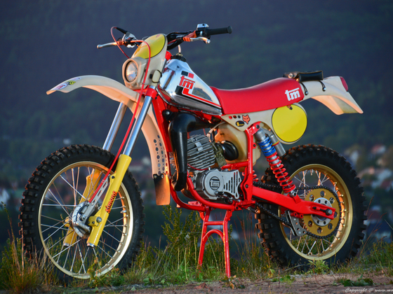 Moto TM Regolarita 125cc 1980
