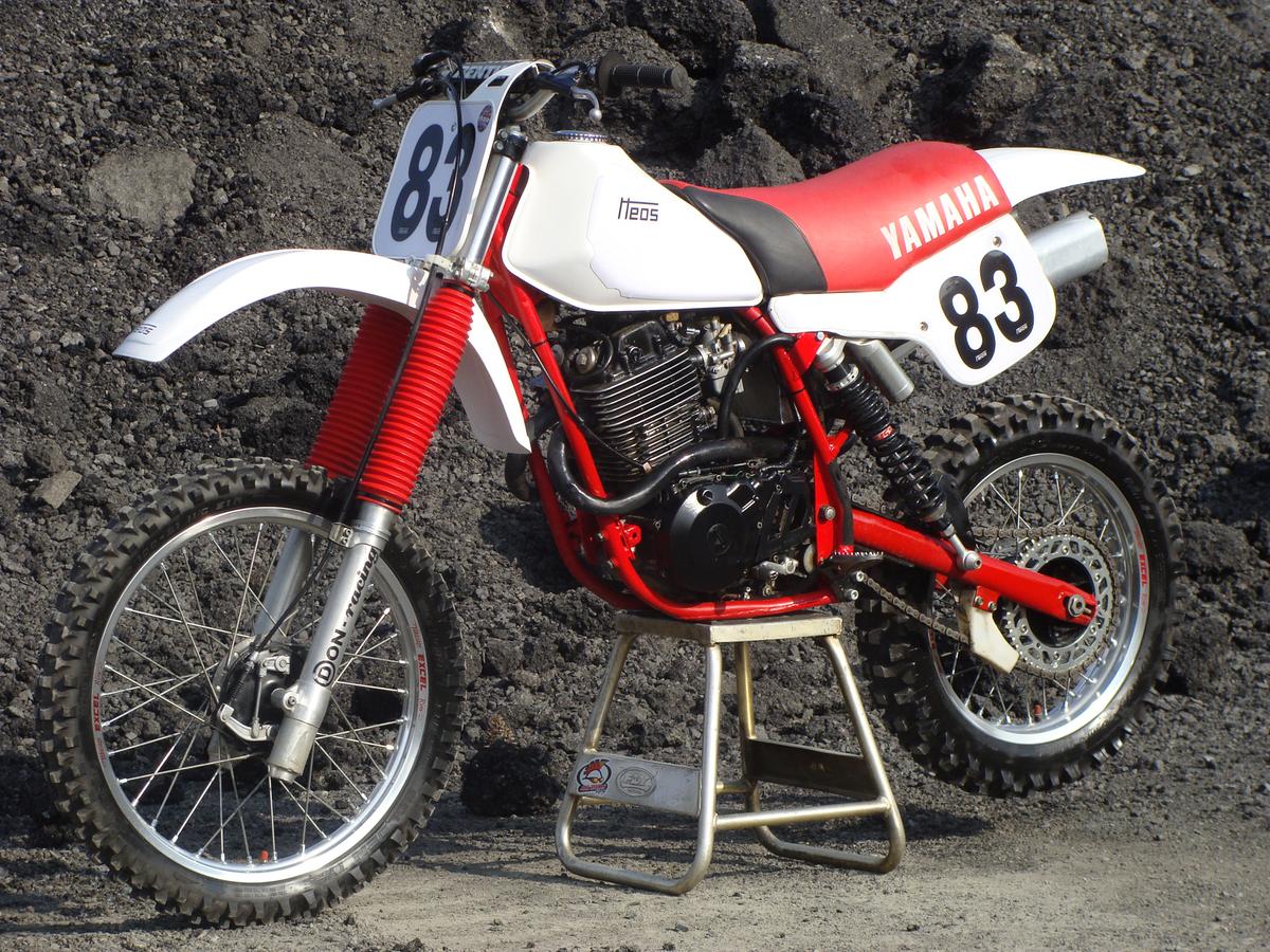 HEOS-Yamaha, Bj. 1983, Motor XT 550